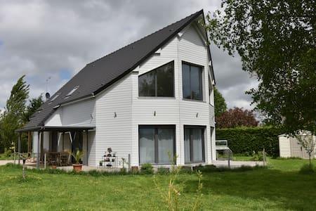 Espace privatif dans maison moderne - Courbépine - Haus