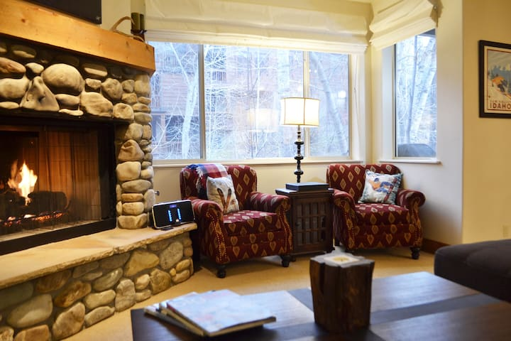 Riverfront Luxury in the Heart of Downtown Ketchum