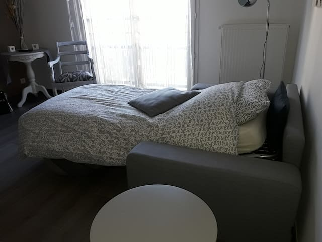 canapé lit avec vrai matelas