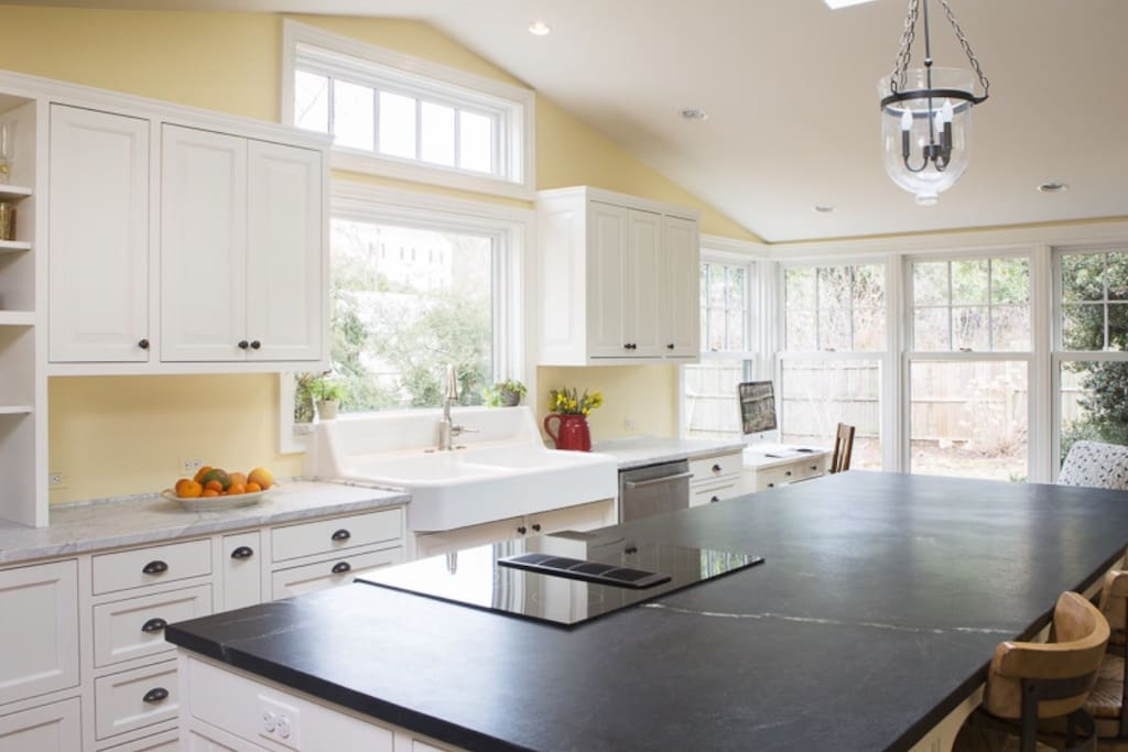 Kitchen addition completed in 2014.