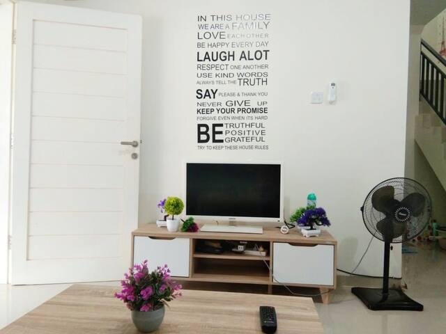 New decoration House batam center  - 3BR (6-8 pax)