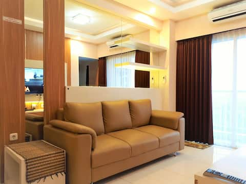 Luxury Apartment in West Surabaya with Golf View