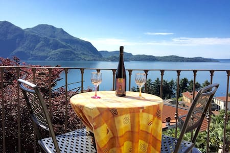 Apartment in Villa with Lake View - Verbania