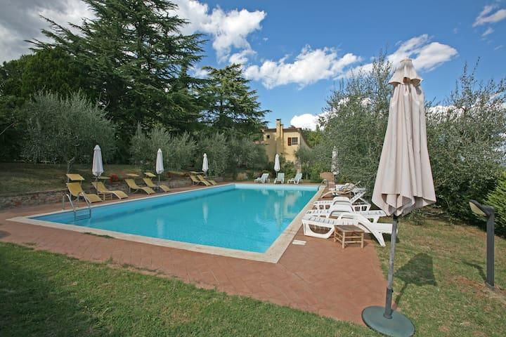 Villa in parco + pool 10' da Siena - Carpineta - Apartamento
