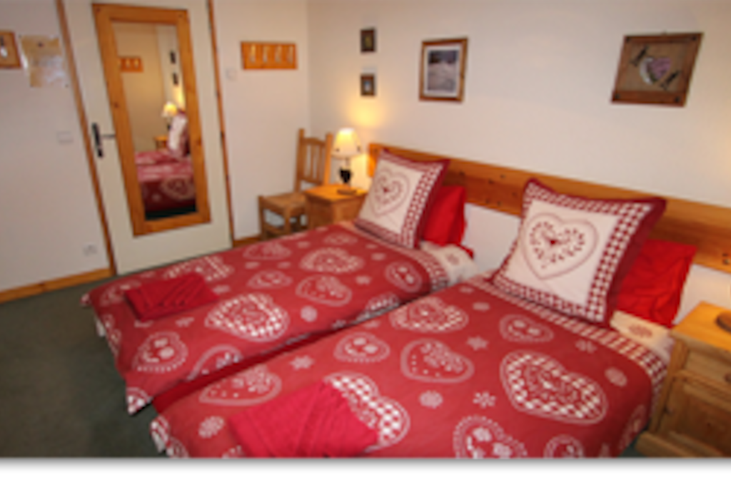 Large twin rooms