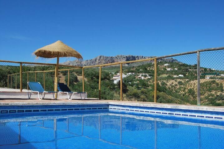 Casa rural. 2 dorm, piscina y wifi - La Joya - House