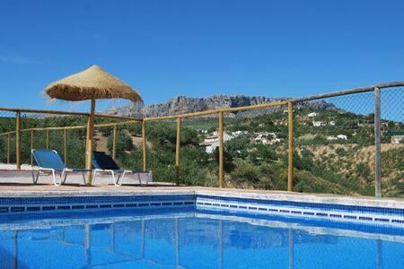 Casa rural. 2 dorm, piscina y wifi - La Joya - Дом
