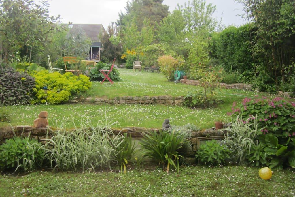 jardin  indépendant sans vis à vis