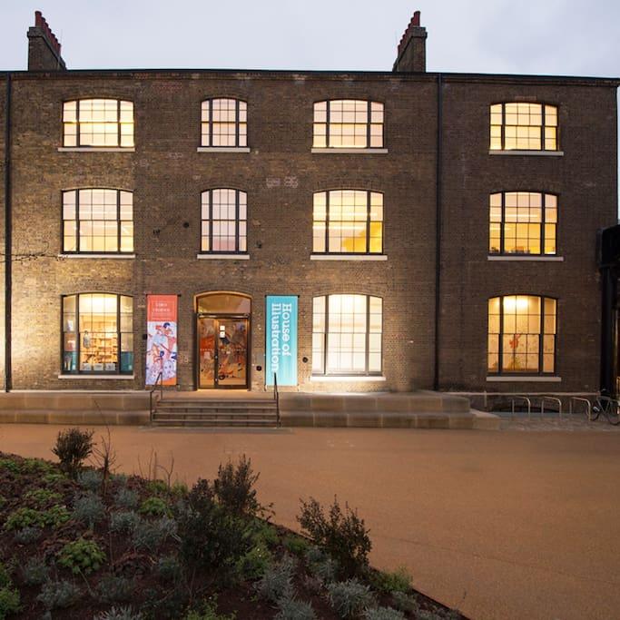 King's Cross, London, Greater London semtinde House of Illustration adlı yerin fotoğrafı