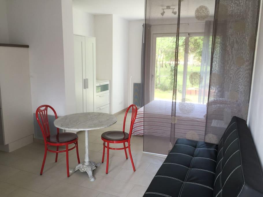 Studio neuf houses for rent in fort mahon plage for Studio neuf