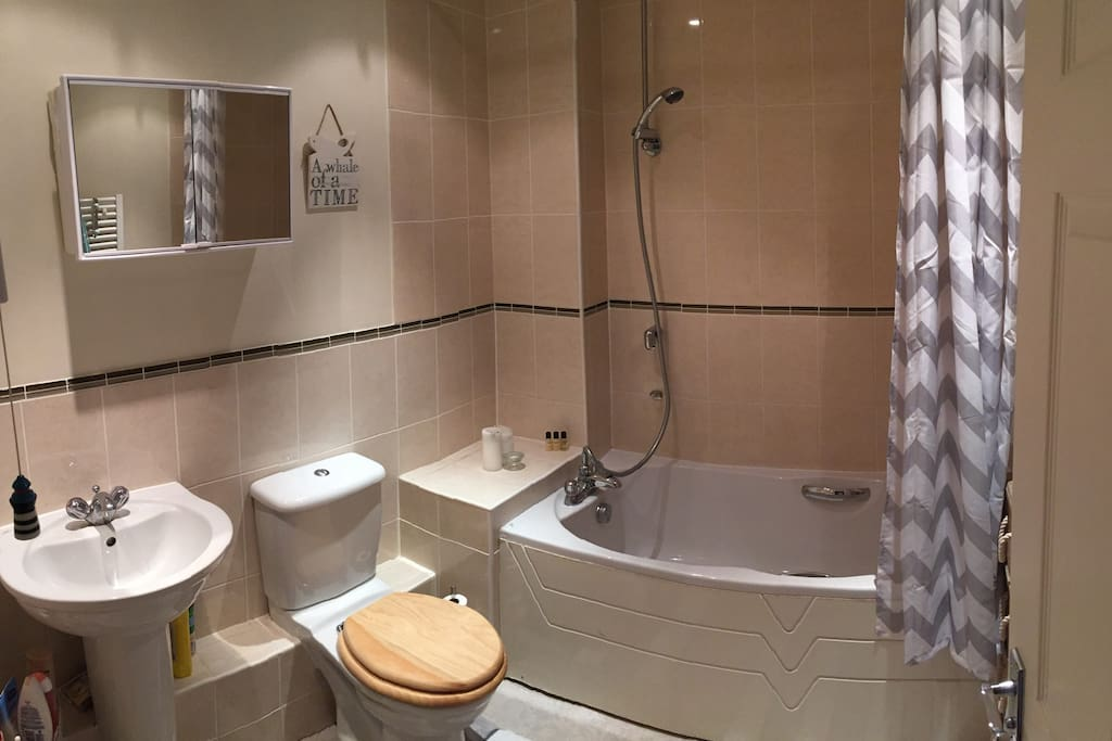 Exclusive use of the main bathroom which is next to the room