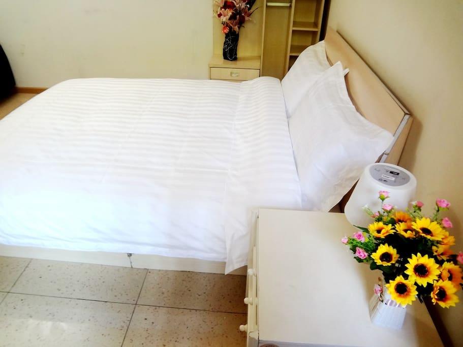 纯棉60支加密床单被罩