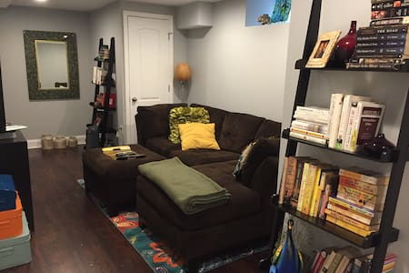 Cozy home near downtown Towson - Baltimore - Huis