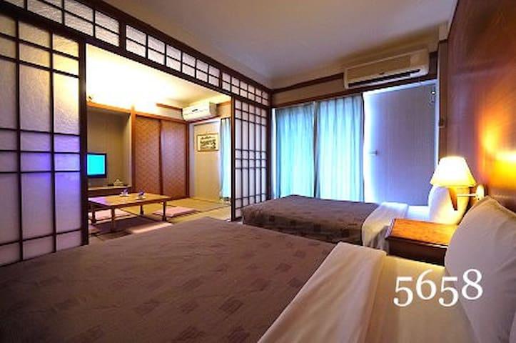 台東知本富吉野溫泉民宿-台灣後山純淨慢活之旅-日式家庭4~6人房
