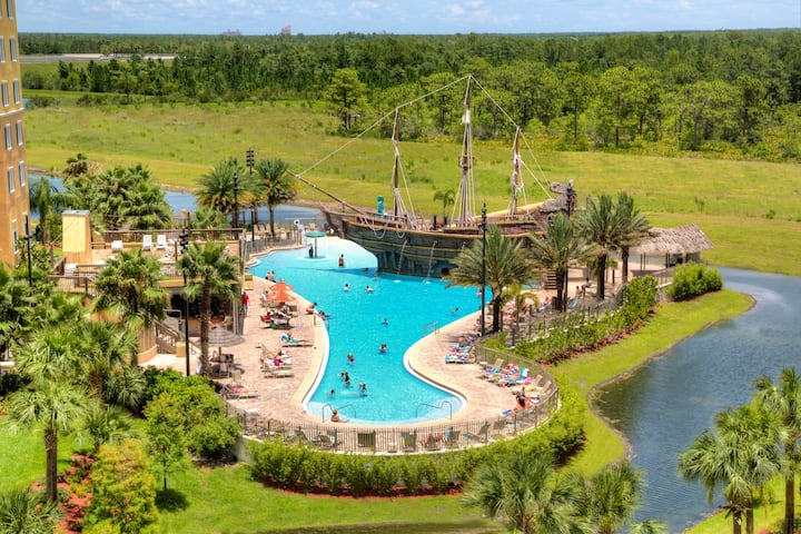 2 bedroom Condo-Orlando-Best Location