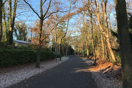Exclusive flat in a park 30 mins from Amsterdam - Hilversum - Apartament