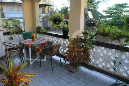 Large beachfront 2bedroom apt - Bridgetown