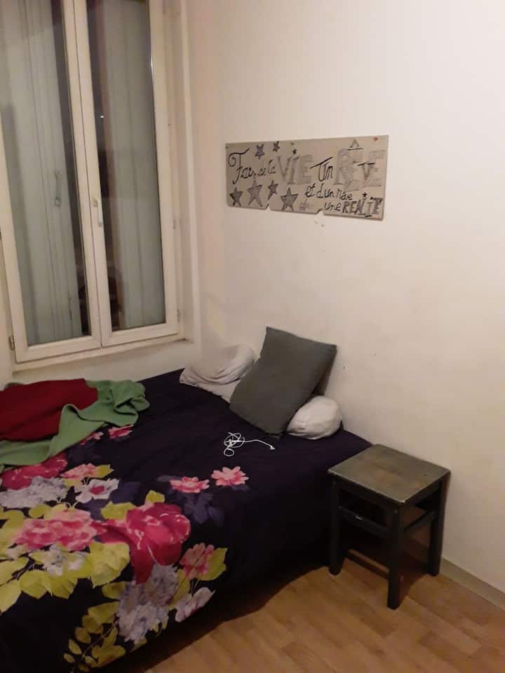 2 chambres ensoleillée