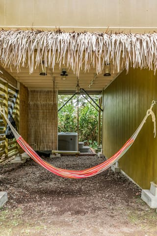 Fall asleep listening to the sounds of nature in your tropical hammock