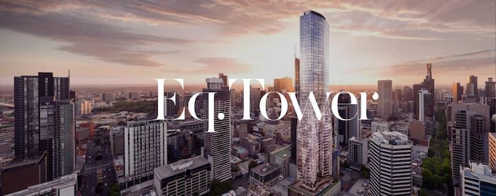 CBD 2BR+2BA APT with 55th Floor View&Free Carpark