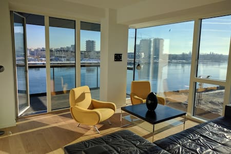 Exclusive 138 m2 new apartment at the waterfront - Kopenhagen - Wohnung