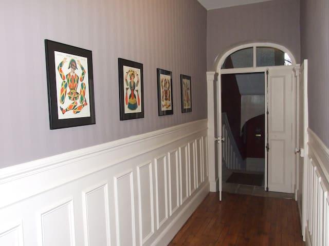 le couloir du premier étage