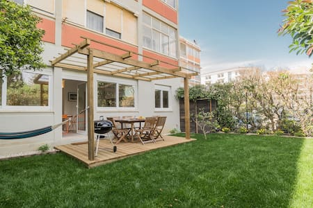NEW! Adorable Beach House, with amazing courtyard - Carcavelos - 公寓