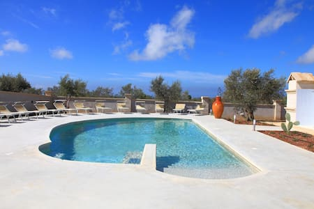 Blue Sky and Sea Apartment and Pool - Ugento - Apartment