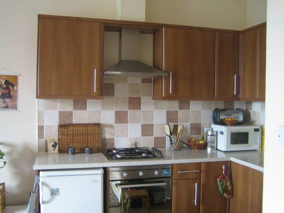Modern, fitted kitchen