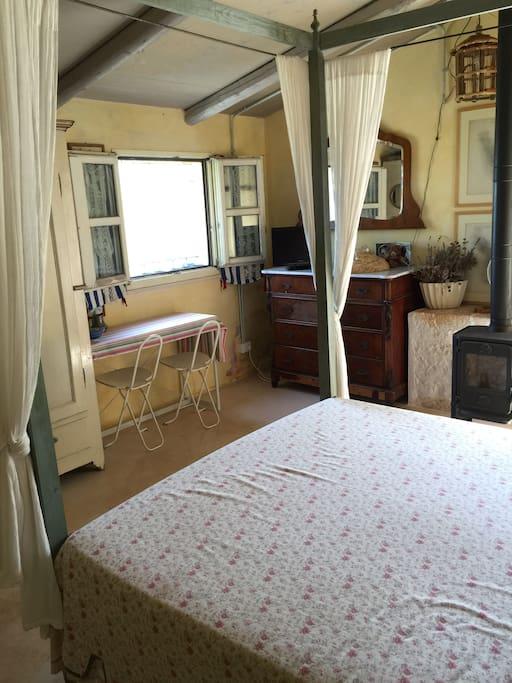 La camera da letto, luogo di soggiorno e riposo...