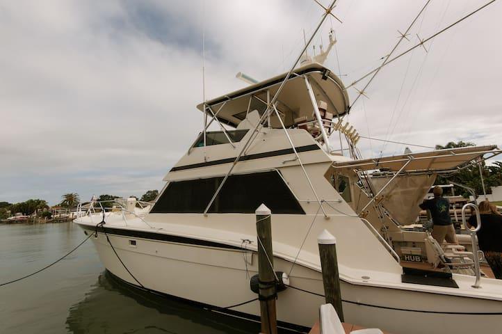 Cozy yacht getaway in Treasure Island - Saint Petersburg - Boat