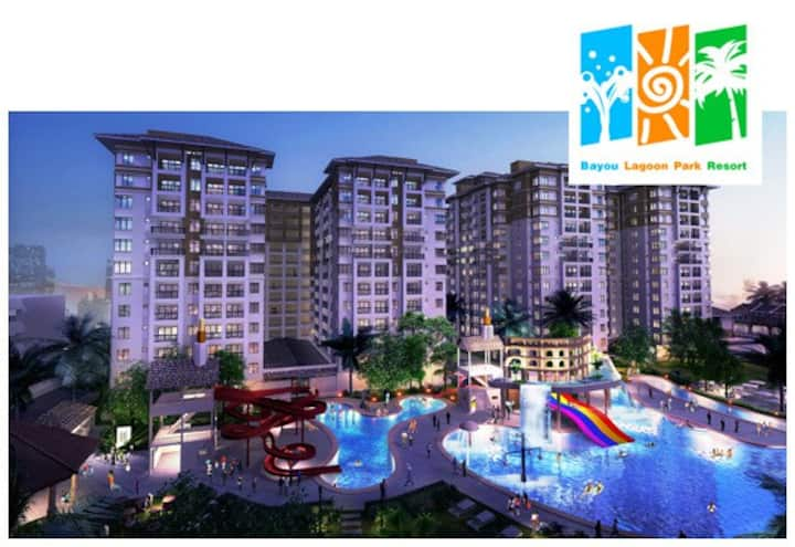 Bayou Lagoon Water Park Studio Apartment