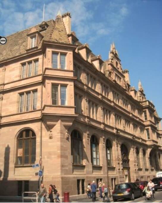 L'immeuble construit en 1903