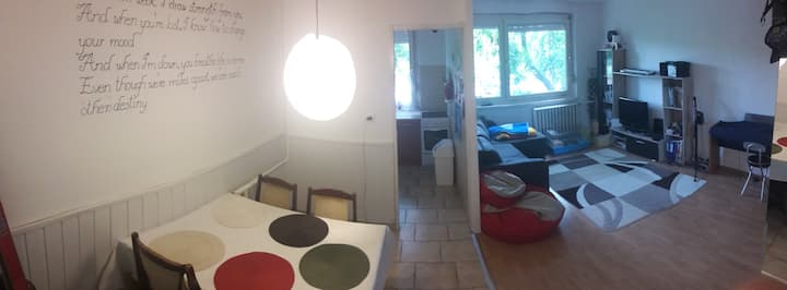 Apartment close to SZIGET Festival