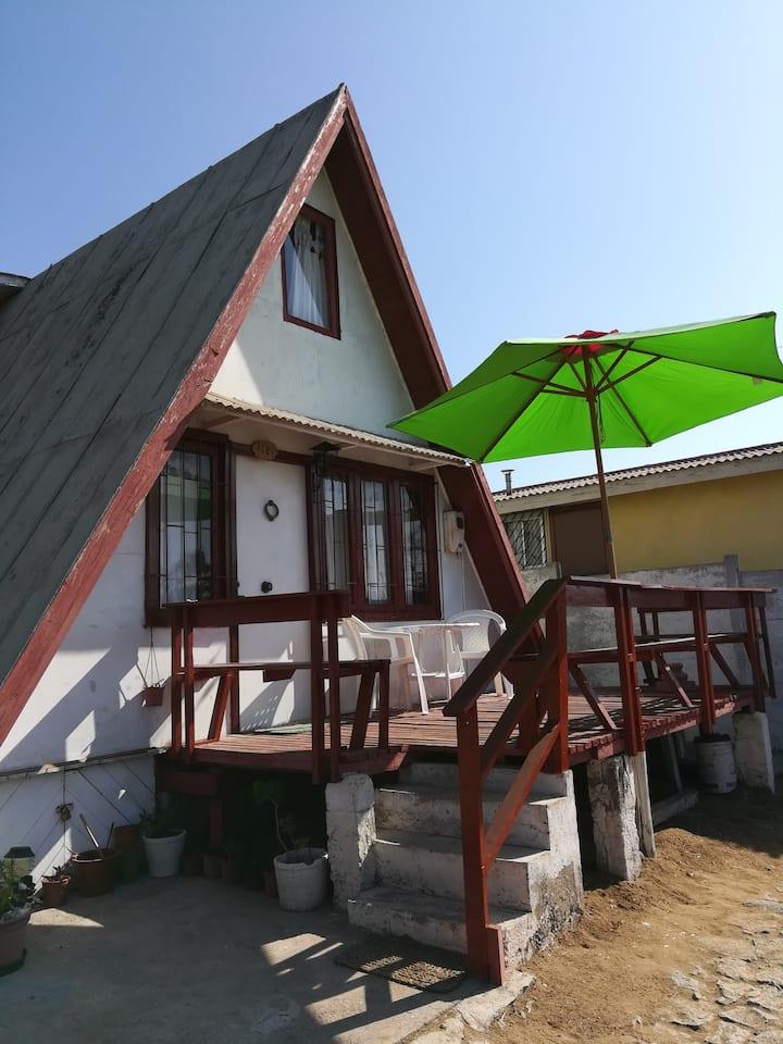Cabaña de playa, Guanaqueros