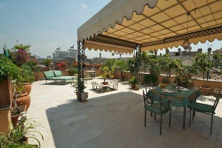 Exclusive Terrace Piazza Argentina  - Rome - Apartment