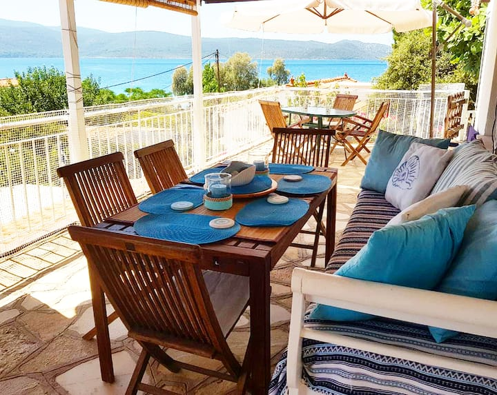 Villa Sofia | Sea View House in Klima