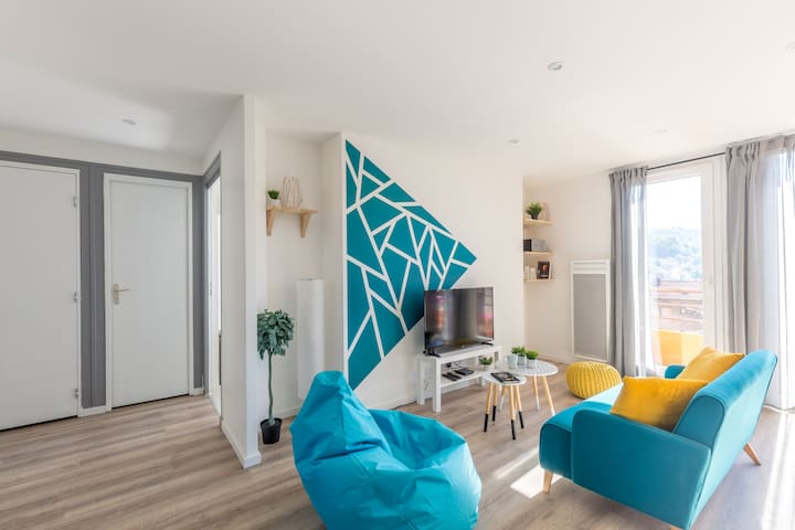 Vaste appartement moderne - 6 pers - Bellegarde