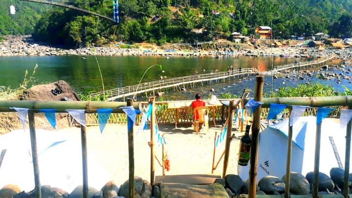 Fabiano Adventures - Riverside Camp at Shnongpdeng
