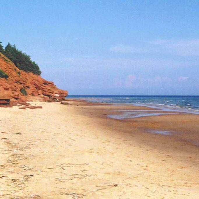 Prince Edward Island Beaches: Executive Cottage On Private Beach
