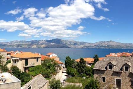 Beautiful sea view, near the beach - Postira - Daire
