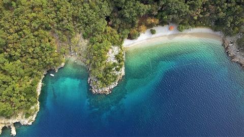 Casa Porozina, apt. Rosemary- 300m paradise beach