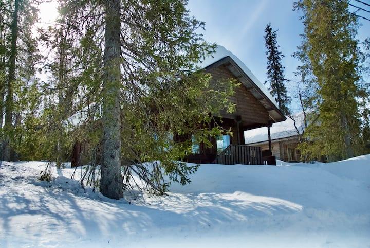 Kuukkeli Log Cabin - In Pallas-Ylläs National Park