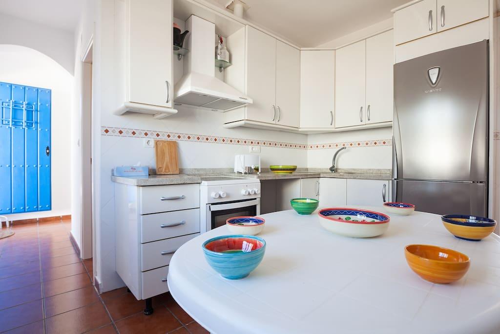 Cocina. Limpieza y sencillez