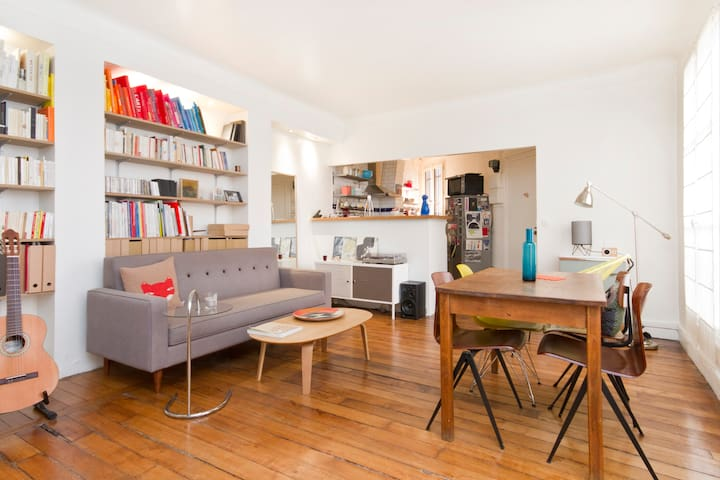 Lovely 1 bdrm flat near Montmartre