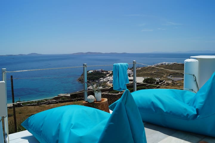 AMAZING SEA VIEW SUITE !! - Mykonos - Appartement