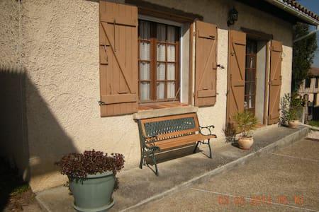 Gite les Rois, 1 double bedroom. - Haute Garonne - House