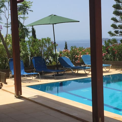 Anemospito Apartment  Private Pool Superb Seaview