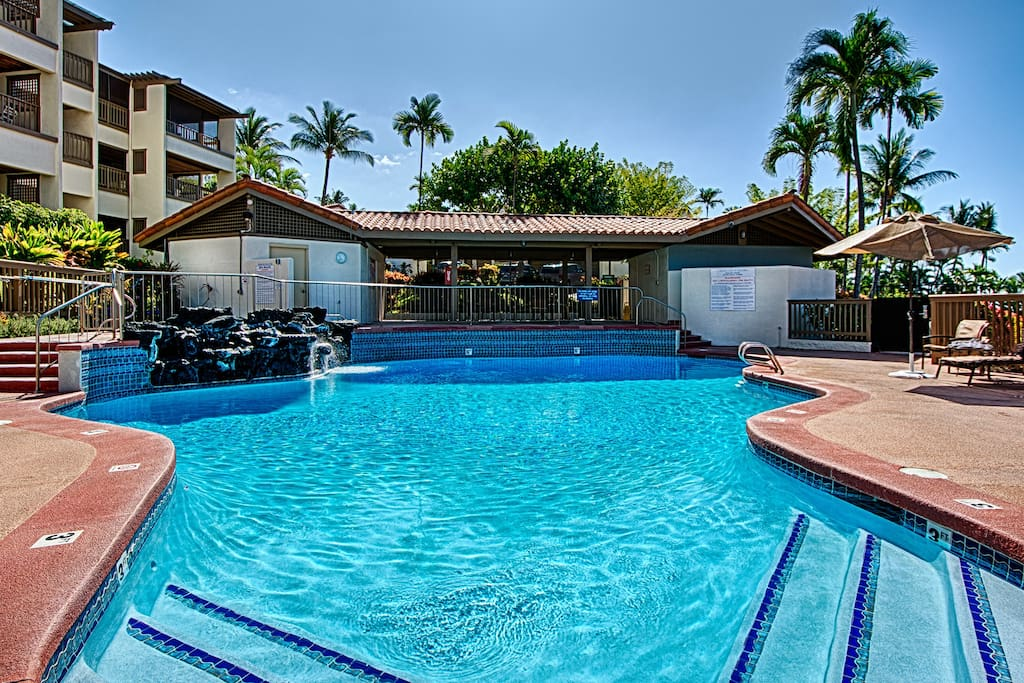General multi use pool with full pool side amenities