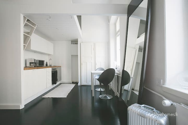 Lovely studio with perfect location